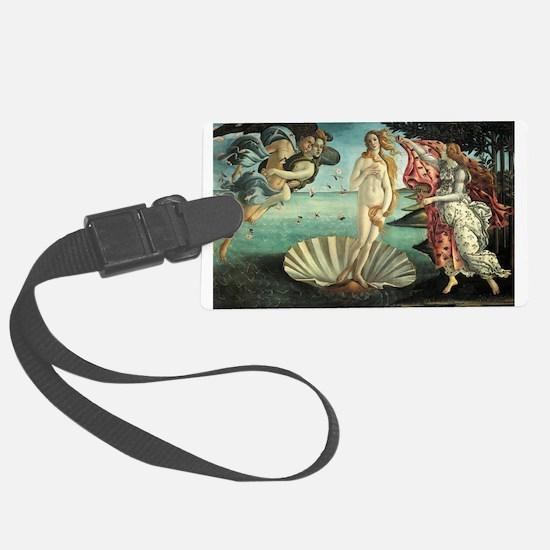Birth of Venus by Botticelli Luggage Tag