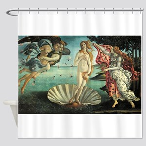 Birth of Venus by Botticelli Shower Curtain