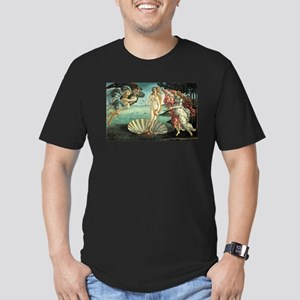Birth of Venus by Botticelli Men's Fitted T-Shirt
