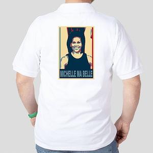 FLOTUS Michelle Obama Pop Art Golf Shirt