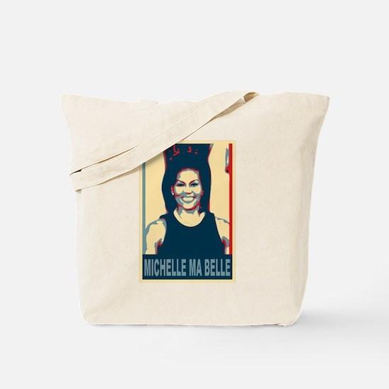 FLOTUS Michelle Obama Pop Art Tote Bag