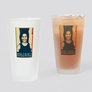 FLOTUS Michelle Obama Pop Art Drinking Glass