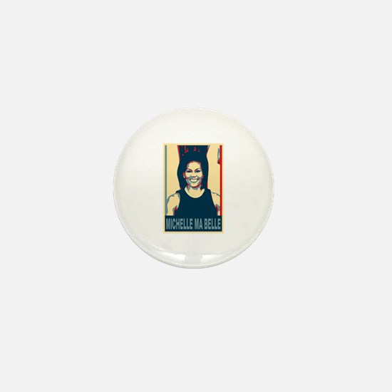 FLOTUS Michelle Obama Pop Art Mini Button