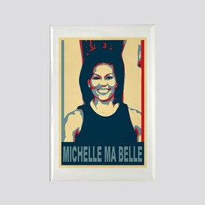 FLOTUS Michelle Obama Pop Art Rectangle Magnet