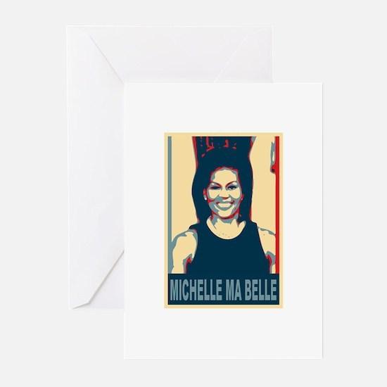 FLOTUS Michelle Obama Pop Art Greeting Cards (Pk o