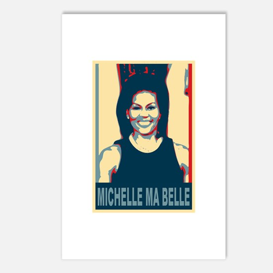FLOTUS Michelle Obama Pop Art Postcards (Package o