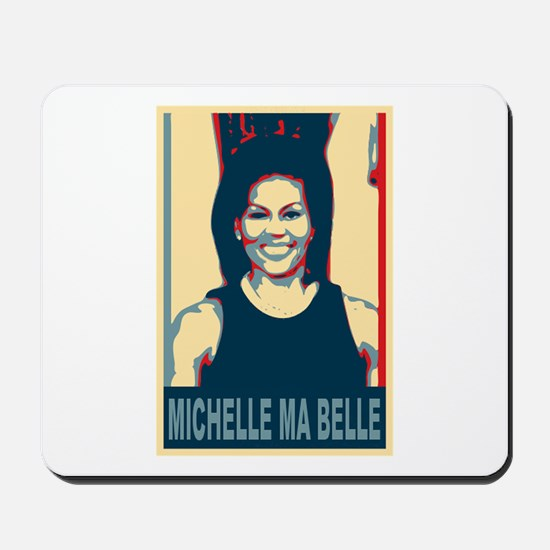 FLOTUS Michelle Obama Pop Art Mousepad