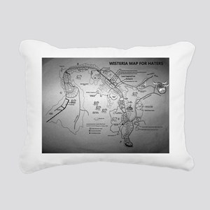 X-Day/Wisteria/ HatersRectangular Canvas Pillow
