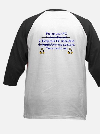 Switch to Linux Kids Baseball Jersey