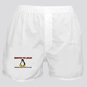 Switch to Linux Boxer Shorts