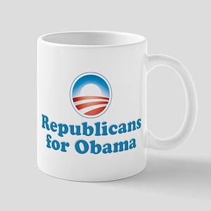 Republicans for Obama Mug