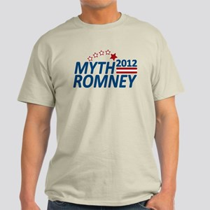 Myth Romney Anti Mitt 2012 Light T-Shirt