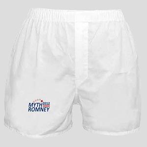 Myth Romney Anti Mitt 2012 Boxer Shorts
