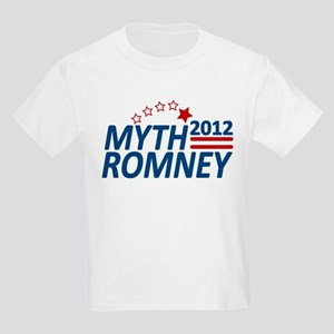 Myth Romney Anti Mitt 2012 Kids Light T-Shirt