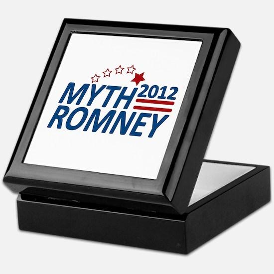 Myth Romney Anti Mitt 2012 Keepsake Box