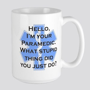Im Your Paramedic Large Mug