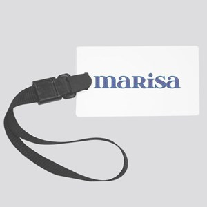 Marisa Blue Glass Large Luggage Tag