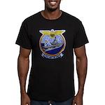 USS ANTIETAM Men's Fitted T-Shirt (dark)