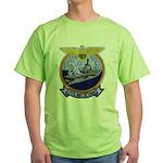 USS ANTIETAM Green T-Shirt