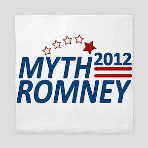 Myth Romney 2012 Queen Duvet
