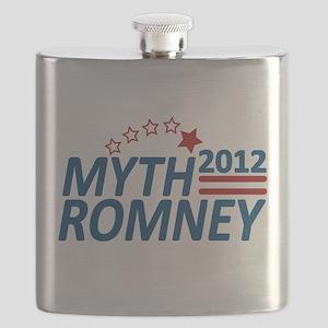 Myth Romney 2012 Flask