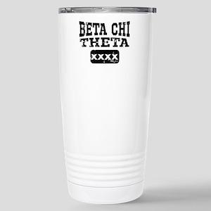 Beta Chi Theta At 16 oz Stainless Steel Travel Mug