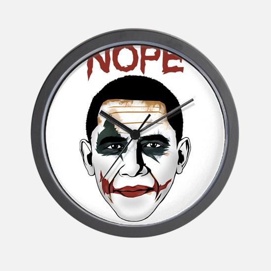 Obama Joker Wall Clock