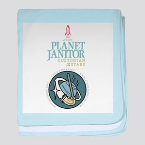 Planet Janitor: Custodian of the Stars baby blanke
