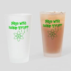 Nuclear Stuff Drinking Glass