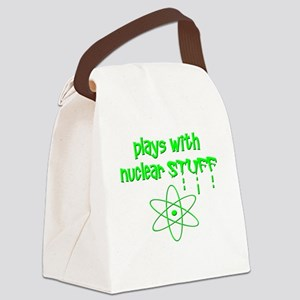 Nuclear Stuff Canvas Lunch Bag