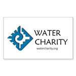 WC LOGO Centered Sticker Sticker (Rectangle 50 pk)