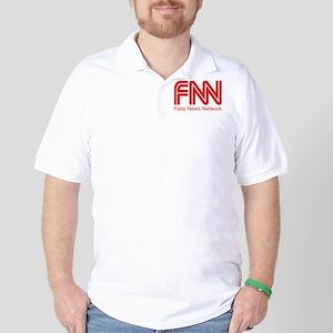 FNN Fake News Network Golf Shirt