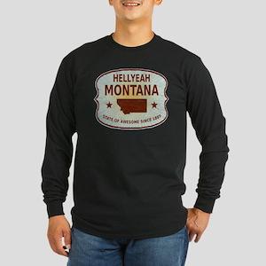 HellYeah Montana Long Sleeve Dark T-Shirt