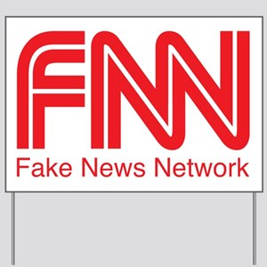 FNN Fake News Network Yard Sign