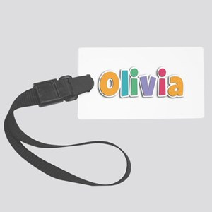 Olivia Spring11 Large Luggage Tag