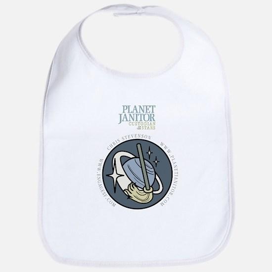 Planet Janitor Logo Bib