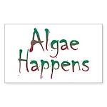 Algae Happens Sticker (Rectangle 10 pk)
