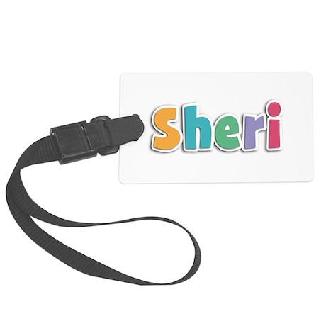 Sheri Spring11 Large Luggage Tag