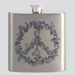 Harmony Flower Peace Flask