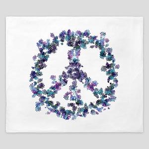 Harmony Flower Peace King Duvet