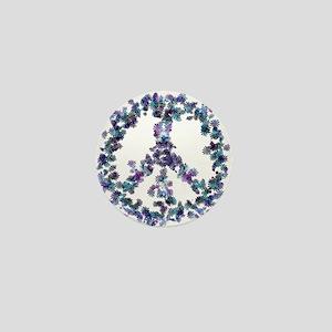 Harmony Flower Peace Mini Button