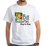 Bill Foundation Logo White T-Shirt