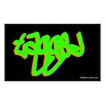 tagged.rect.sticker Sticker (Rectangle 10 pk)