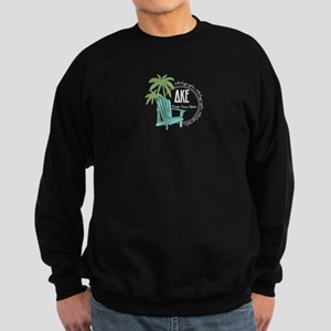 Delta Kappa Epsilon Beach Person Sweatshirt (dark)