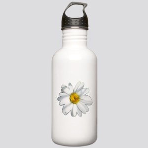 White daisy Stainless Water Bottle 1.0L