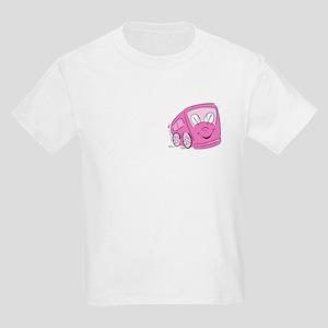 PINK HAPPY BUS Kids T-Shirt
