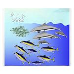 Tuna Birds Dolphins attack sardines King Duvet