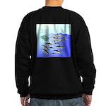 Tuna Birds Dolphins attack sardines Sweatshirt (da