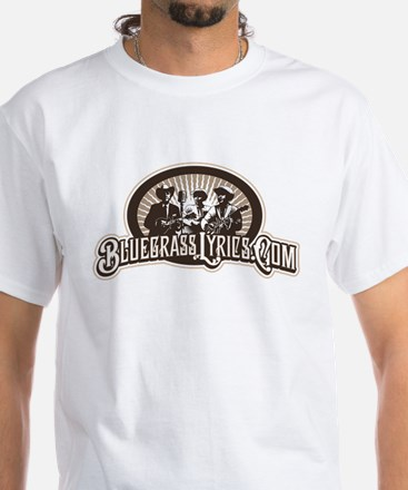 Bluegrass Lyrics Black T-Shirt