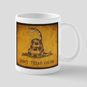 www.aliesfolkart.com Gadsden Flag Mug
